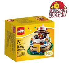 Lego - boite décoration table gateau d'anniversaire bouffon birthday 40153 NEUF
