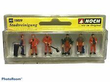 Noch 15029 City Cleaning Municipal H0 Scale Figurines Stadtreinigung NIP