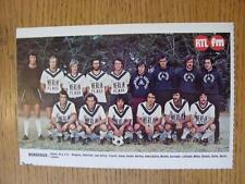 "1976/1977 Football Magazine (France) Colour Team Group [8""x 5""] Cut Outs: Bordea"