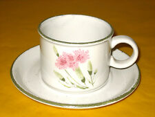 """MIDWINTER INVITATION TEA/COFFEE CUPS&SAUCERS,CUP dia 3.5"""",tall 2.5"""", in VGC"""