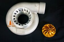 "Snail Turbo 4"" Anti Surge Compressor Cover AR70 with 25G Billet Compressor Wheel"