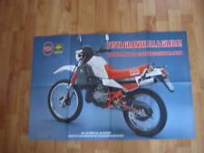 POSTER ANNO 1986 - MOTO GILERA RTX 125