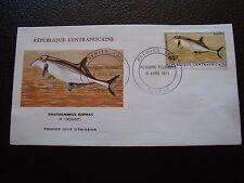 REPUBLIQUE CENTRAFRICAINE - enveloppe 1er jour 6/4/1971 (B4)