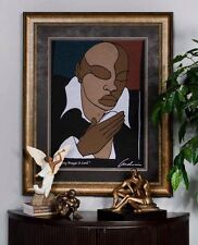 """African American Woven Art Tapestry """"HEAR MY PRAYER O LORD"""" by Andre Thompson"""