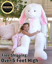 Bunny Plush Jumbo Giant Kawaii Rabbit Animal Stuffed Teddy Bear Girl Nursery Kid