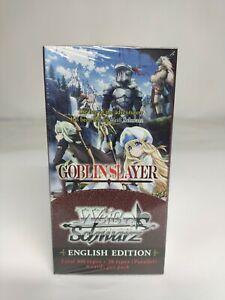 Weiss Schwarz Goblin Slayer Booster Box ENGLISH (US SELLER fast ship)
