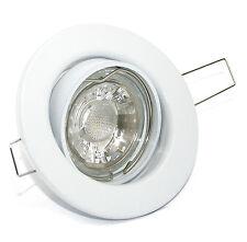 230Volt Einbaustrahler Tom Dimmbar inkl. 5W High Power LED Gu10 Einbauspots