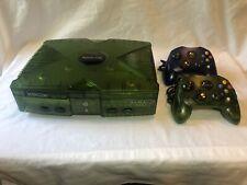 Original Xbox Halo Special Edition Translucent Green Console