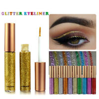 Eyeliner Liquide Pailleté 7 Couleurs Glitter Silver Gold Metallic Eyeliner