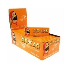 1 5 10 20 25 50  Zig Zag Liquorice Standard Smoking Cigarette Rolling Papers