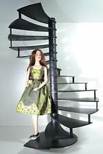 Spiral Stair for Dolls 1/4 Tonner BJD Cami 16-18 inch Furniture Diorama Ladder