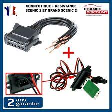 Kit reparation cable + resistance de chauffage Scenic ll = 8200729298 7701207876