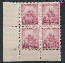 Bohemen en Moravië 28 met Nummerplaat postfris MNH 1939 Praag (9310340