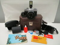 Sears TLS Auto 500 35mm Film Camera with Sears/Sekor 48mm f2.8 Lens & Case