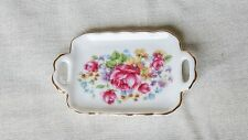 Dolls House 1/12 Scale Reutter Floral Pattern Tray