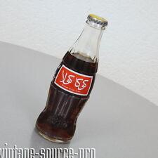 alte Coca Cola Glas Flasche 0,2 Liter arabische Emirate ungeöffnet mit Inhalt
