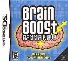 NEW DS, DSI, DS, 2DS Game Works in 3DS   BRAIN BOOST GAMMA WAVE    MAKE AN OFFER