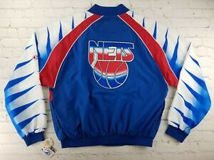 NWT Vintage NBA 1990s Champion New Jersey Nets Warmup Jacket RARE! Brooklyn 90s