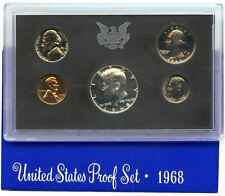 1968 S US Mint Proof Coin Set