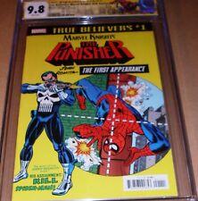 Amazing Spider-Man #129 CGC SS 9.8 SIGNED Romita 1st Punisher True Believer REPT