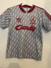 Liverpool ORIGINAL 1989 - 1991 Candy Adidas Away Shirt
