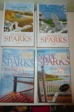 4 Romane von Nicholas SPARKS / c 1996, 2004, 2011 , 2013 - TOP