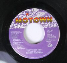 Soul 45 Smokey Robinson - Just To See Her / I'M Gonna Love You Like There'S No T