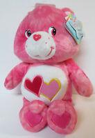 "Care Bears TIE-DYE Bears LOVE-A-LOT BEAR 10"" Special Edition Series 1 2003"