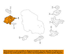 NISSAN OEM 12-15 Versa-Engine Motor Mount/Torque Strut 112101HS0A