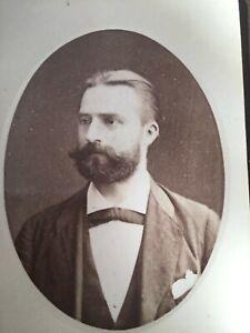 CDV Gay Int. VGL BEARDED FRENCH MAN Paris c 1870 CDV Photo 10/10