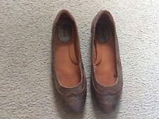 Ariat Ballet Shoes Slip On Ladies 10 Metallic Leather