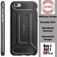 Spigen iPhone 6 / iPhone 6s Case Neo Hybrid TPU Carbon Gunmetal Premium *NEW*