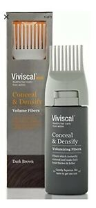 8-PACK Viviscal Man Conceal and Densify Volumizing Fibers Light Brown 0.53 oz ea