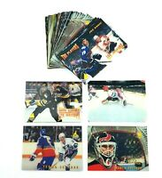 1996-97 Pinnacle McDonalds 3D and Full Motion Video Lot of 27 NHL Hockey Cards