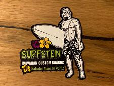 2x SURF Aufkleber Vintage Summer Beach Danger Warnung Strand Wellenreiten #146