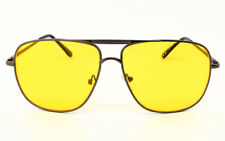 Rectangle Sport Metal Frame Pilot Sunglasses Fashion Mens Ladies 60's Retro