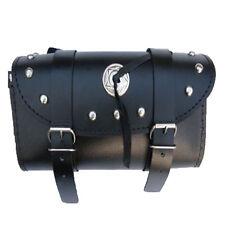 Werkzeugrolle,Toolbag,Chopper,Werkzeugtasche:Leder Motorrad Rollbag Toolbox Neu
