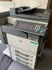 Minolta Bizhub C252 Color Laser Printer Copier Scanner Fax Copy Machine 1111