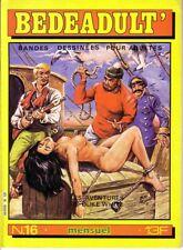 BEDEADULT' N°16 SEDEM - magazine BD  pour Adultes