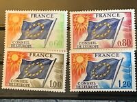 France  stamps 1975 Council of Europe MNH