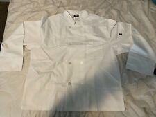 Nwt Dickies Unisex Chef Coat White Dc45 Size: 2Xl