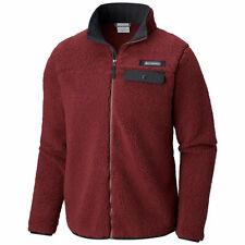Columbia Mountain Side Heavyweight Full Zip Fleece - Elderberry 521 Large