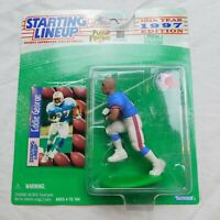 SLU Eddie George NFL Starting Lineup Figure & Card 1997 Houston Oilers Vintage