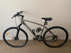 Trek Dual Sport 1 Bicycle - size L - 2020 silver model with accessories