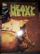 Heavy metal March 1978 adult comic