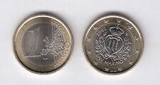 SAN MARINO PRIMA MONETA FDC UNC DA 1 EURO ANNO 2002 RARO DA ROTOLO ZECCA REGALO