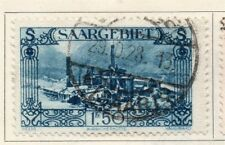 Saar 1927 Early Issue Fine Used 1F.50c. 149800