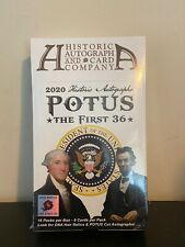 Historic Autographs Potus The First 36 Hobby Box