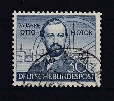 Echte Briefmarken aus der BRD (1948-1954) mit Technik-Motiv