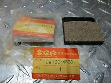 NOS SUZUKI Brake Pads Rear 77-83 KZ GS GV 550 650 750 1000 1200 XN85 69130-45001